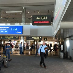 Photo taken at Gate C41 by Chuck N. on 5/17/2015
