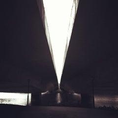 Photo taken at Bridge @ Punggol Walk by Yola on 10/25/2012