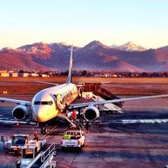 """Photo taken at Aeroporto di Orio al Serio """"Il Caravaggio"""" (BGY) by Norbert on 1/25/2013"""