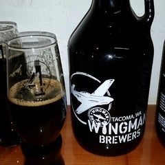 Photo taken at Wingman Brewers by Danielle D. on 4/18/2015