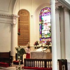 Photo taken at St. John's Lutheran Church by Sheila T. on 7/19/2015