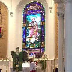 Photo taken at St. John's Lutheran Church by Sheila T. on 8/30/2015
