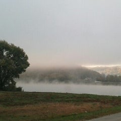 Photo taken at Anderson Ferry by jess c. on 10/24/2012
