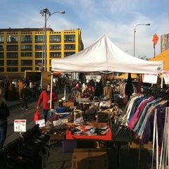 Photo taken at Hell's Kitchen Flea Market by Steve R. on 12/15/2012