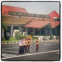 Photo taken at Ahmad Yani International Airport (SRG) by Ubinkayu S. on 9/26/2012