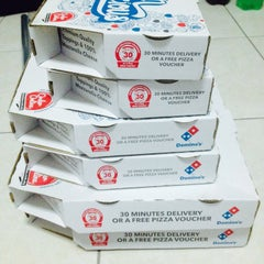 Photo taken at Domino's Pizza by Nisaa on 9/23/2015