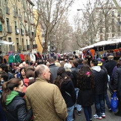 Photo taken at Rastro de Madrid by Victor C. on 2/17/2013