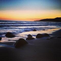 Photo taken at El Capitan State Beach by Adam B. on 3/17/2013