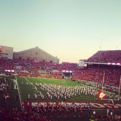 Photo taken at Camp Randall Stadium by Claus-Georg on 9/15/2012