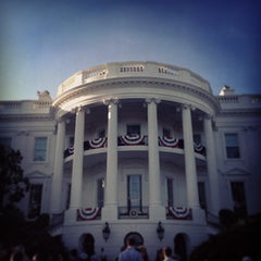 Photo taken at The White House by Chris W. on 7/4/2013