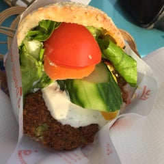 Photo taken at Falafel in Berlin by Marie-cecile H. on 3/20/2015