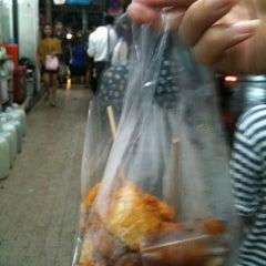Photo taken at วินมอเตอร์ไซค์ (MRT สุทธิสาร) by Inthedream p. on 11/26/2012