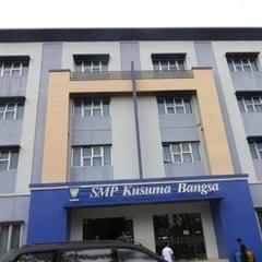 Photo taken at SMA Kusuma Bangsa by Advocate J. on 9/23/2013