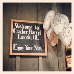 Photo taken at Cracker Barrel Old Country Store by White W. on 6/9/2013