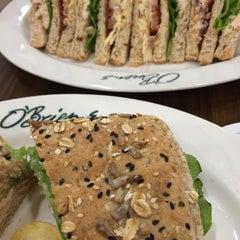 Photo taken at O'Briens Irish Sandwich Bar by Jayne on 6/27/2015