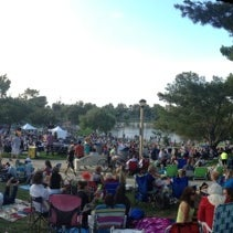 Photo taken at Summer Concerts in the Park by Brandon F. on 7/15/2013