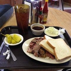 Photo taken at Mac's Bar-B-Que by Tripp J. on 2/20/2013