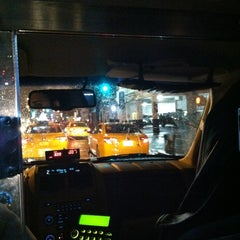 Photo taken at NYC Taxi Cab by Lea G. on 1/12/2013