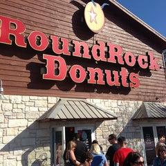 Photo taken at Round Rock Donuts by Corey K. on 3/15/2013