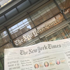 Photo taken at New York Times Building by Annie K. on 5/21/2016