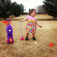 Photo taken at Southern Tee Golf Course by Jessika A. on 3/2/2014