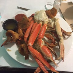 Photo taken at The Original Crab House by ural on 2/15/2016