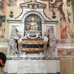 Photo taken at Basilica di Santa Croce by Valentina D. on 1/12/2013
