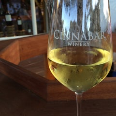 Photo taken at Cinnabar Wine Tasting Room by Varun S. on 7/26/2015