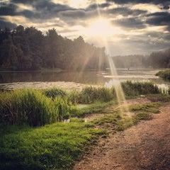Photo taken at Природно-исторический парк «Кузьминки-Люблино» by Kharevskaya I. on 9/8/2013