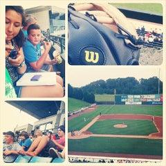 Photo taken at Knights Stadium by Cody M. on 7/18/2013