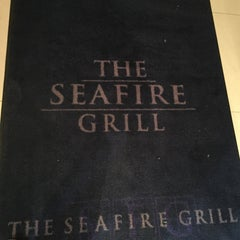 Photo taken at The Sea Fire Grill by Ryan M. on 4/7/2015