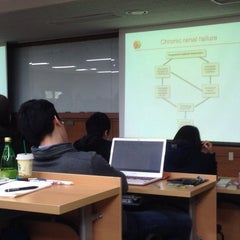 Photo taken at 서울대학교 치과대학 by Jee Eun P. on 4/9/2014