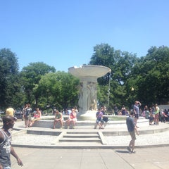 Photo taken at Dupont Circle by Hendrik K. on 6/8/2013