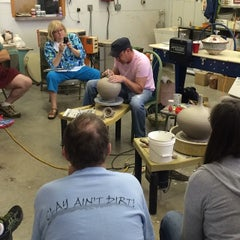Photo taken at Bracker's Good Earth Clays by Cindy B. on 6/8/2014