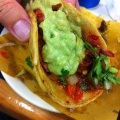 Photo taken at Tacos El Franc by Conrad & Jenn R. on 2/25/2015