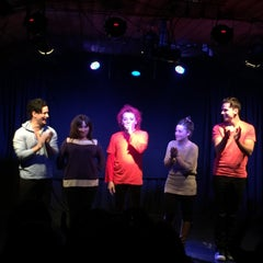 Photo taken at Teatro Club de Impro Lospleimovil by Nathalie V. on 7/23/2015