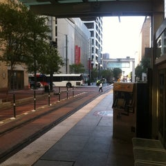 Photo taken at METRORail Main Street Square (Northbound) by Marcos C. on 10/9/2012