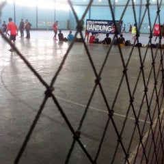Photo taken at YPKP Indoor Soccer Center by Adhietya A. on 4/14/2013