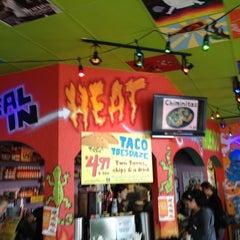 Photo taken at Tijuana Flats by David F. on 11/13/2012
