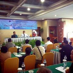 Photo taken at Makassar Golden Hotel (MGH) by Patri J. on 9/24/2014