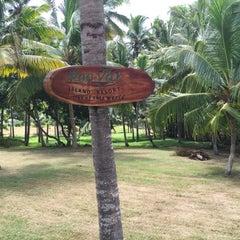 Photo taken at Poovar Island Resort by Abey J. on 6/19/2015