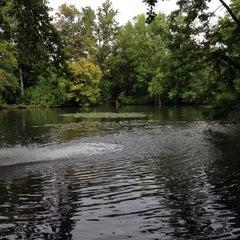 Photo taken at Ernst-Ehrlicher-Park by Bastian D. on 9/24/2013