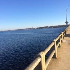 Photo taken at Oceanic Bridge by Dan K. on 12/26/2014
