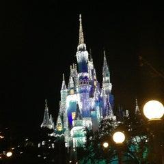 Photo taken at Cinderella Castle by Juan H T. on 1/10/2013