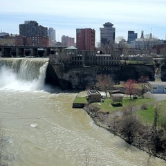 Photo taken at High Falls by Larry H. on 4/22/2013