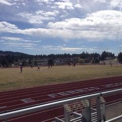 Photo taken at Joel E. Ferris High School by Myk C. on 4/12/2014