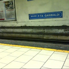 Photo taken at Passante Porta Garibaldi (linee S) by Kalu A. on 3/6/2013