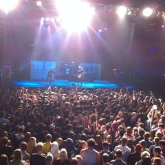 Photo taken at Electric Factory by Nina P. on 11/18/2012