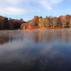 Photo taken at Lake Fairfax Park by Buck H. on 11/9/2013