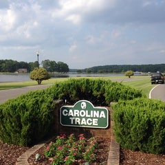 Photo taken at Carolina Trace Country Club by Shannon B. on 7/1/2014